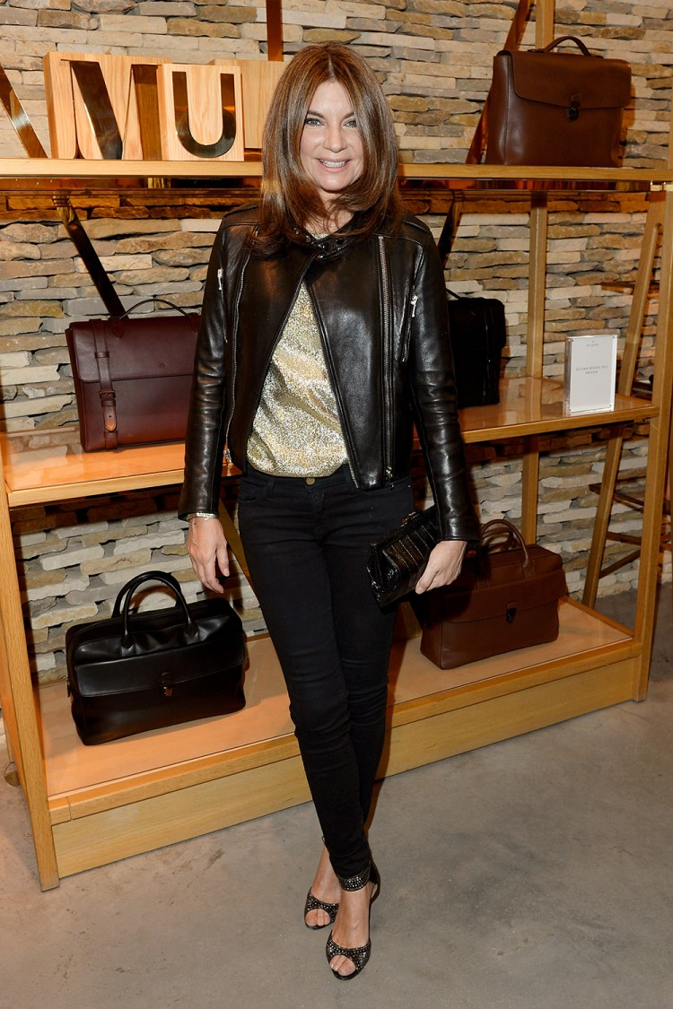Natalie Massenet attends a cocktail party hosted by Mulberry at its flagship London store. Photo / Getty Images