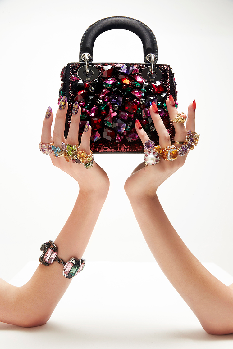 Load up on colourful jewels this spring