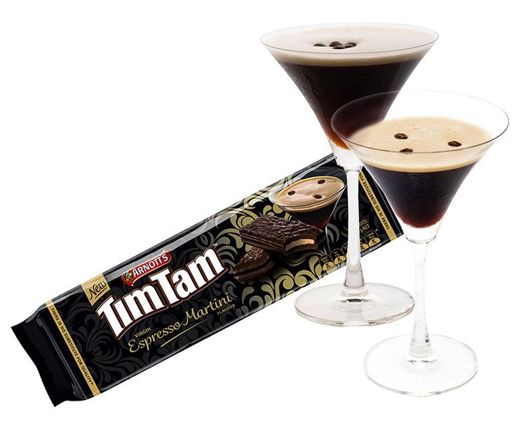 Tim Tam Espresso Martini biscuits