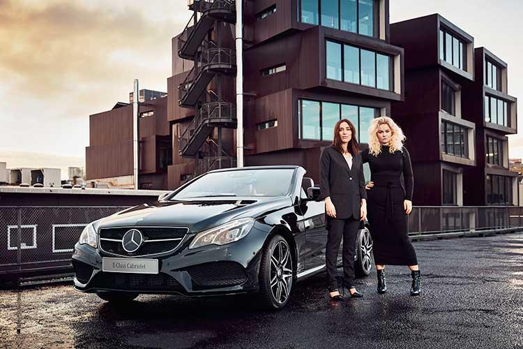 Mercedes Benz Presents designers Harman Grubisa