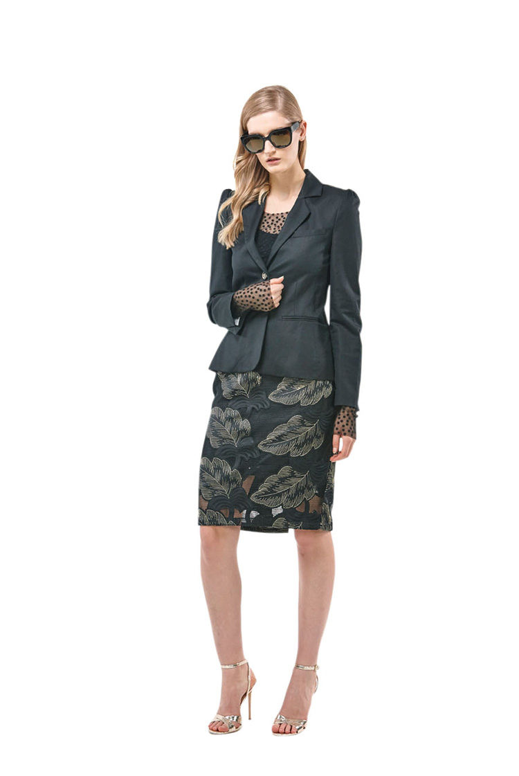 Peace and Noise Jacket, Tattoo Mesh Body, Glamour skirt
