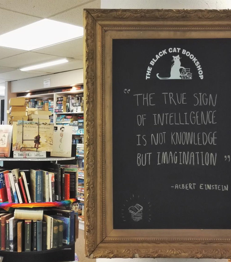 This hidden gem in O'Connell's Mall on Camp Street, Queenstown, has second-hand books from all decades and very helpful staff, plus the inspirational blackboard can brighten your day alone.