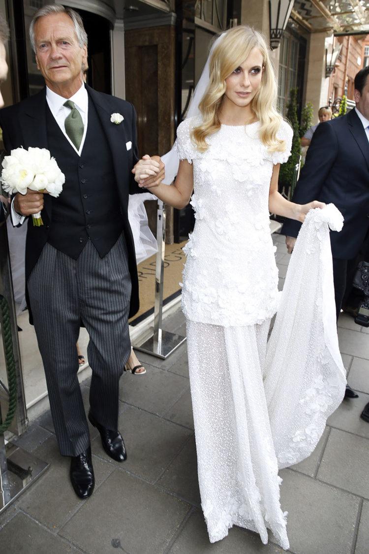 Poppy Delevingne in Chanel Haute Couture.