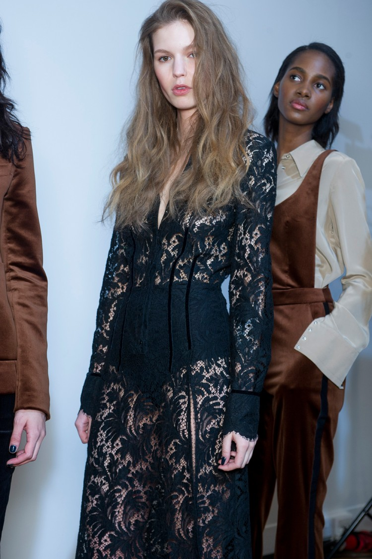 Looks from the Topshop Unique AW15 show at London Fashion Week