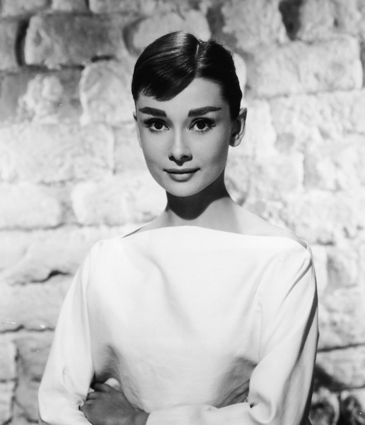 Also in the 50s, Audrey Hepburn's much heavier brows were also de rigueur and helped to play up her elfin features.