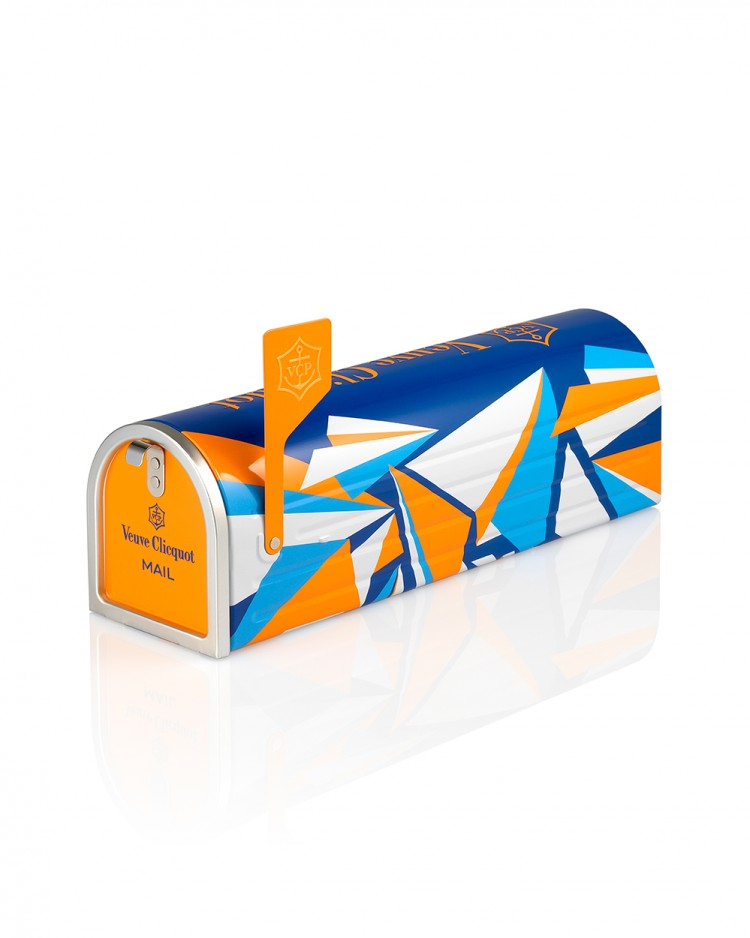 Veuve Clicquot limited edition Recreation Mailbox champagne, $76.99 exclusively from Glengarry