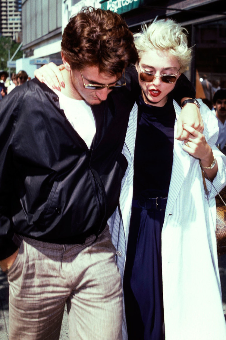 Madonna and Sean Penn, 1987.