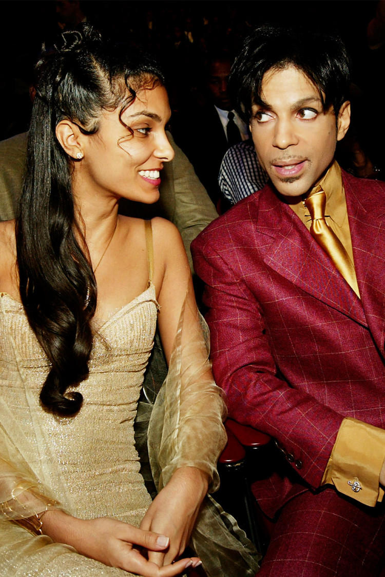 Manuela Testolini and Prince met through his charitable foundation and married in 2001 before amicably divorcing in 2006.