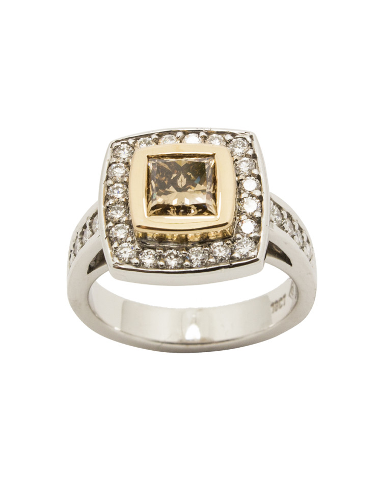 Ring, $13,950, by Goldsmith Gallery Designer Jewellers.