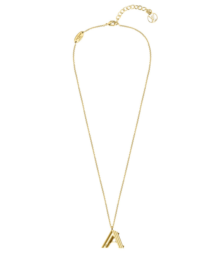 Necklace, $705, by Louis Vuitton.