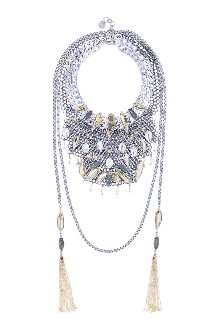 Necklace, $499, by Mimco.
