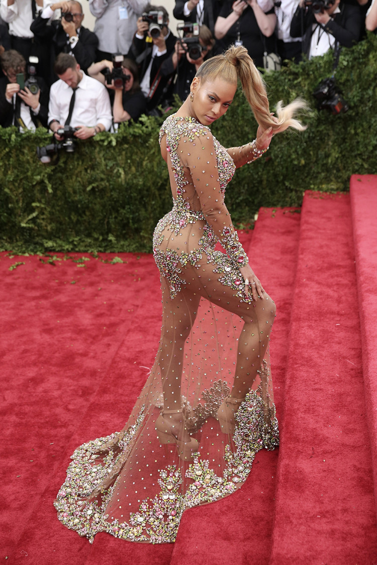 Beyoncé Knowles in Givenchy at the 2015 Met Gala, New York