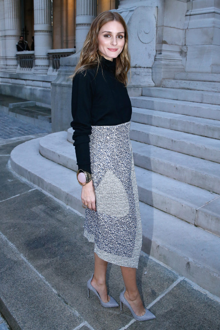 Olivia Palermo attends the Jeanne Lanvin Retrospective : Opening Ceremony at Palais Galliera on March 6, 2015 in Paris, France.