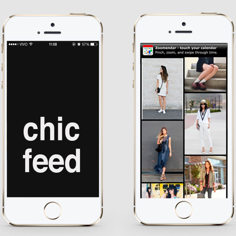 Chic Feed app