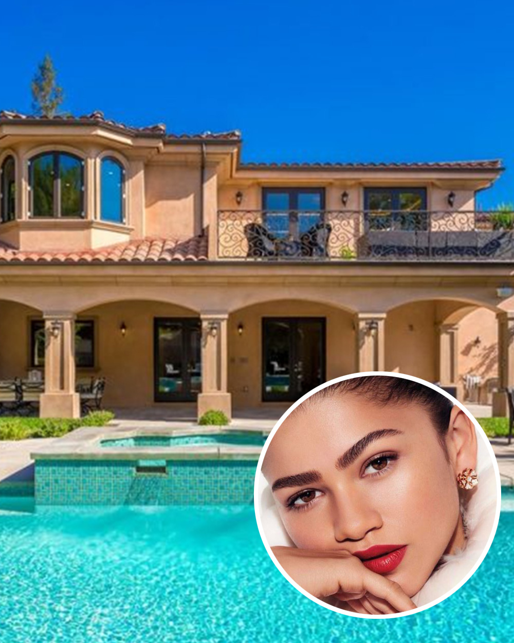 Luxury Modern Mansion In Los Angeles California: See Inside Zendaya's New Luxury $1.4 Million California