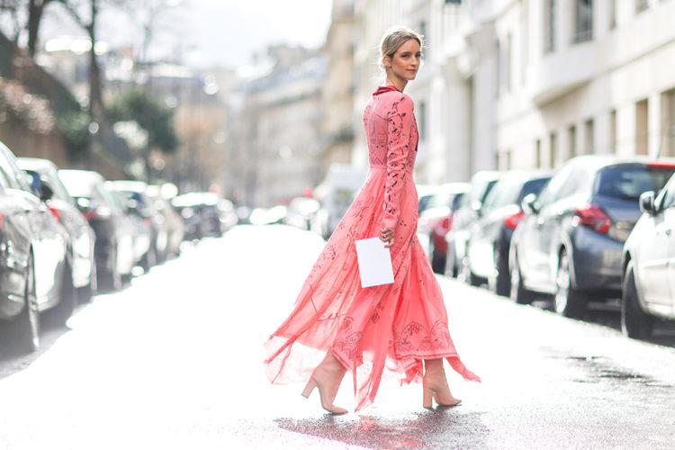 Blogger Charlotte Groeneveld at Paris Fashion Week 2017