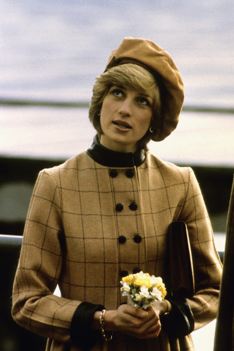 November 1st, 1982 - Princess Diana visits Wales.