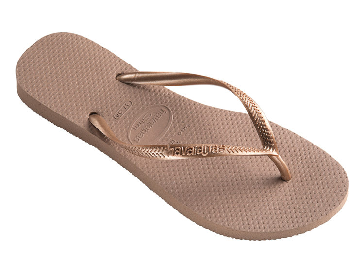 Havianas_Slim_Rose Gold_$40
