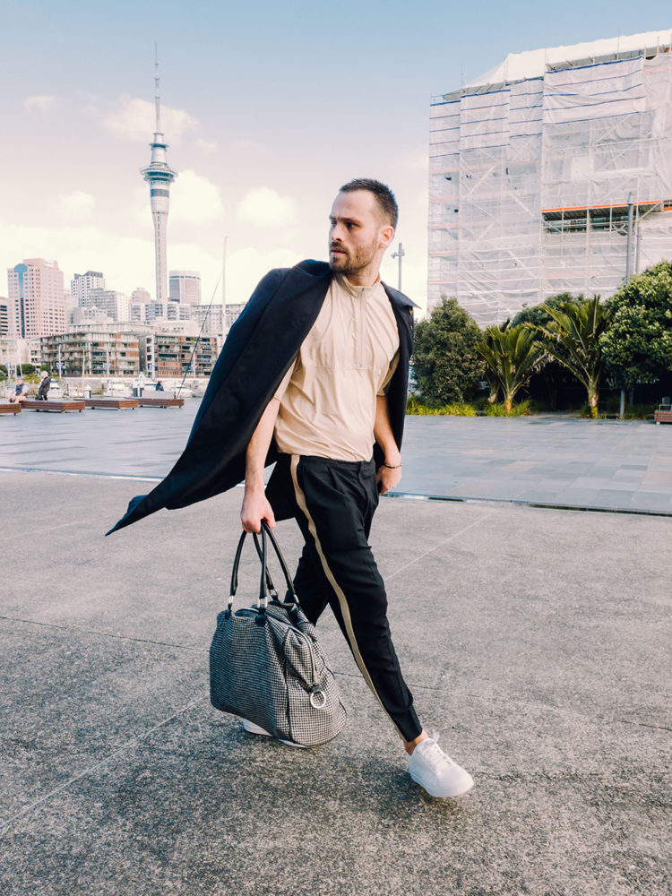 Street style at NZFW 2018: Wednesday taken on the new Samsung Galaxy Note9 by Jared Donkin