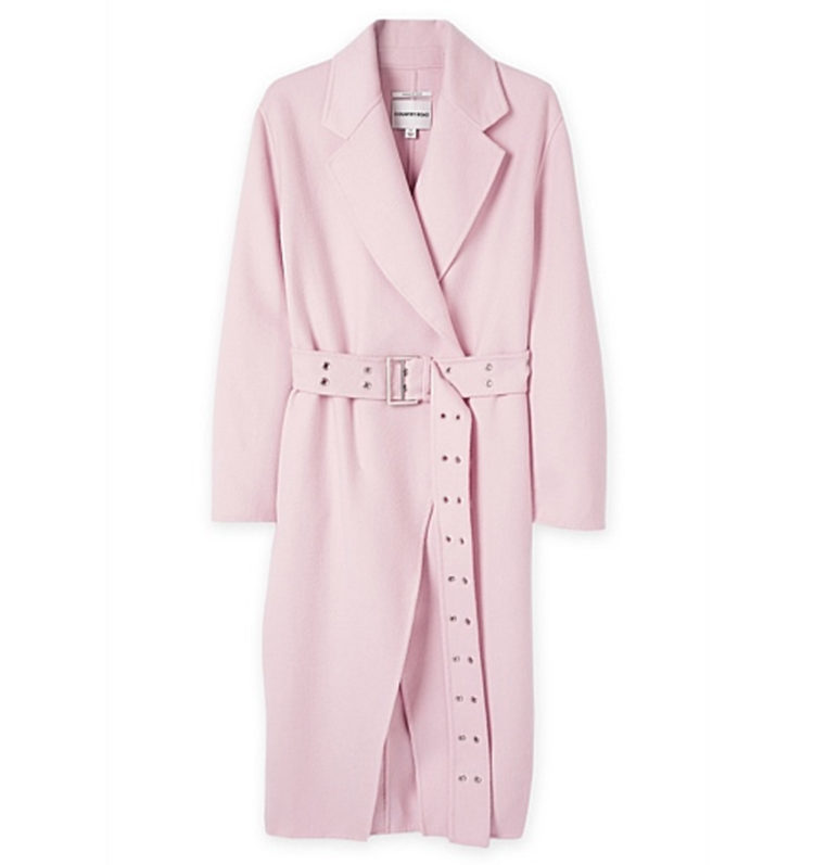 Country Road Double faced Wool Coat, $549