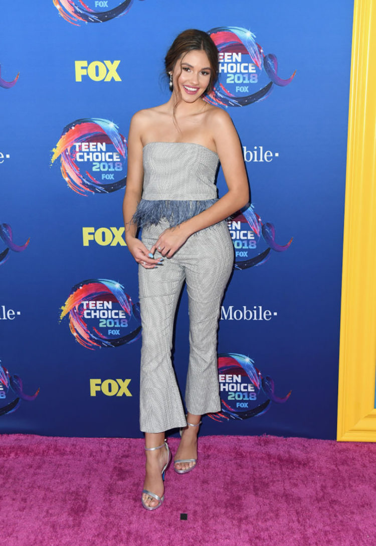 INGLEWOOD, CA - AUGUST 12: Ronni Hawk attends FOX's Teen Choice Awards at The Forum on August 12, 2018 in Inglewood, California. (Photo by Jon Kopaloff/FilmMagic)