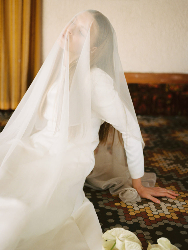 Introducing Ingrid Starnes' debut bridal lookbook: The Ceremony Collection photographed by Greta van der Star