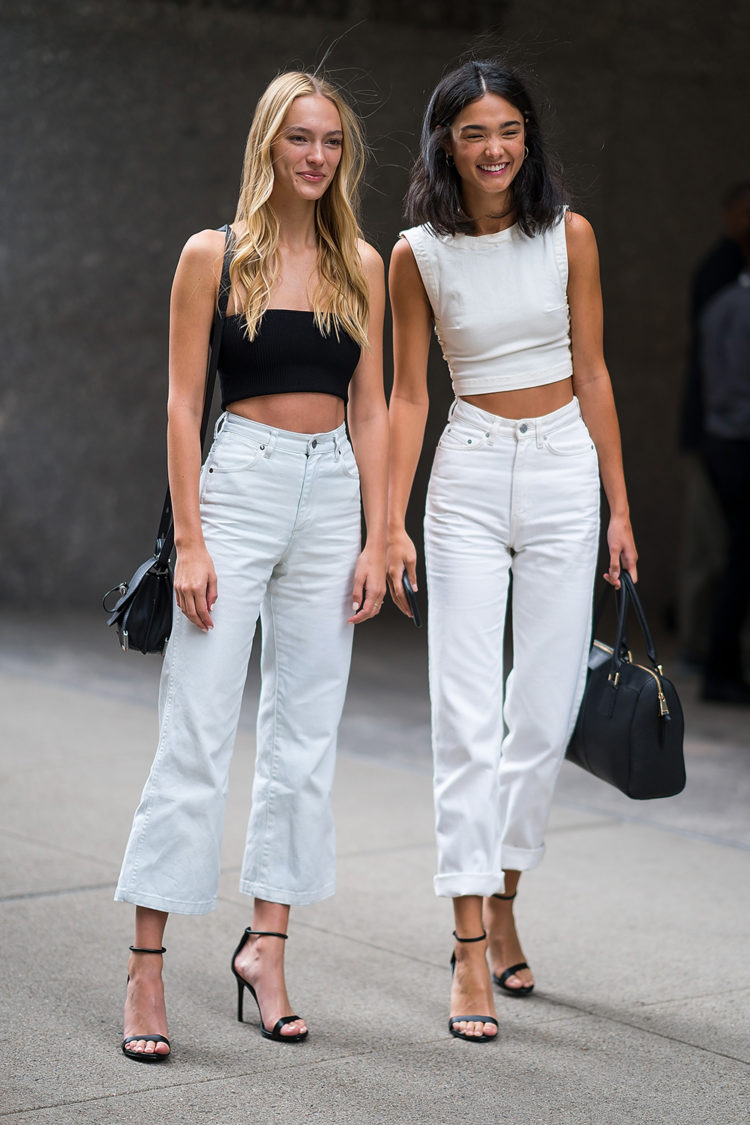 NEW YORK, NY - AUGUST 31: Steph Smith (L) and Regan Kemper attend casting for the 2018 Victoria's Secret Fashion Show in Midtown on August 31, 2018 in New York City. (Photo by Gotham/GC Images)