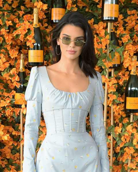 Kendall Jenner at the Veuve Clicquot Polo Classic in Los Angeles