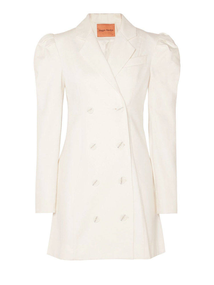 Maggie Marilyn Leap of Faith cotton-twill mini dress, $650 USD from Net-a-Porter.