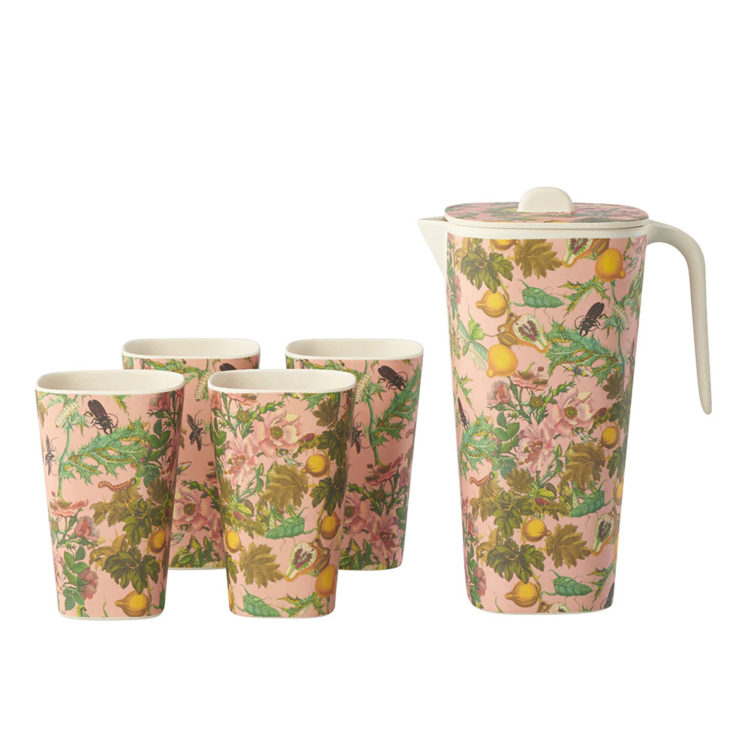 Bamboo jug and tumbler set, $60 from Karen Walker
