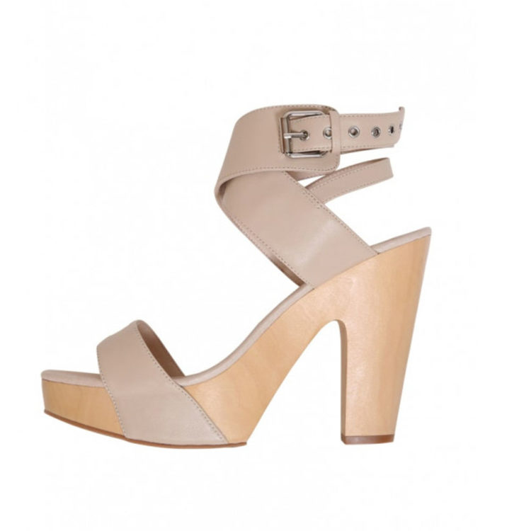 Cross heel, $380 from Moochi