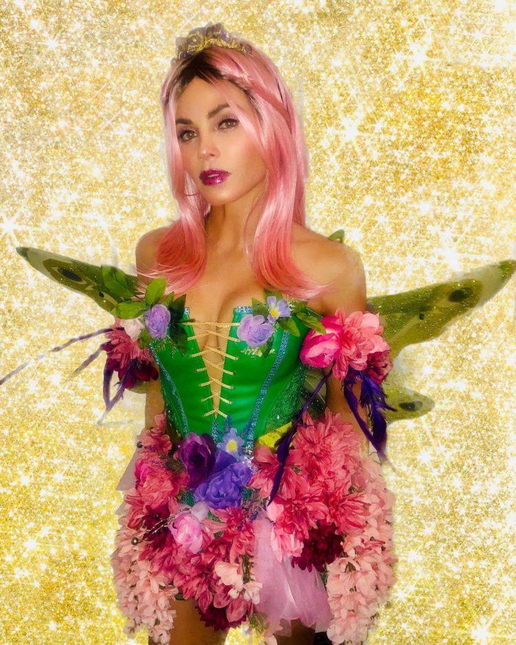 Jenna Dewan as a Halloween Fairy