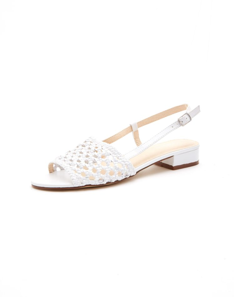 Woven slingback snadals, $49.99 from Glassons