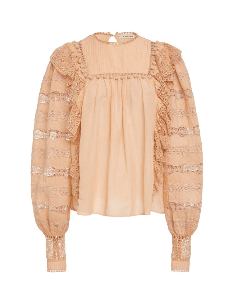 Ulla Johnson blouse, $445 USD from Moda Operandi