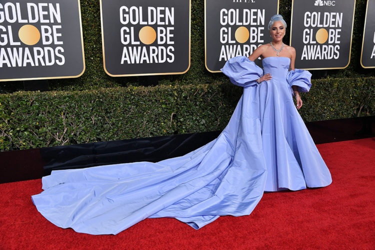 Mandatory Credit: Photo by Rob Latour/REX/Shutterstock (10048066ju) Lady Gaga 76th Annual Golden Globe Awards, Arrivals, Los Angeles, USA - 06 Jan 2019