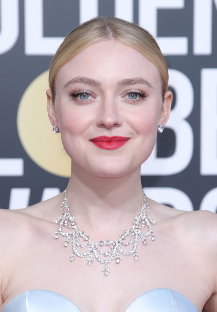 Mandatory Credit: Photo by Matt Baron/BEI/REX/Shutterstock (10048067fw) Dakota Fanning 76th Annual Golden Globe Awards, Arrivals, Los Angeles, USA - 06 Jan 2019