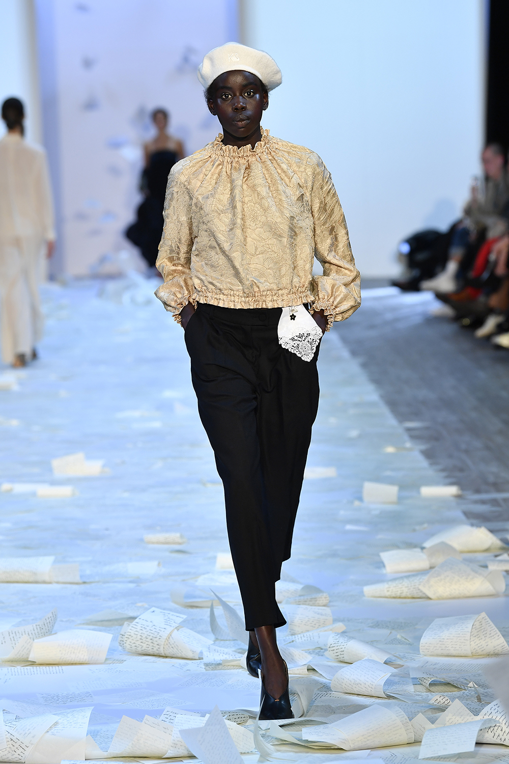 Ayan Makoii at Kate Sylvester NZFW 2019