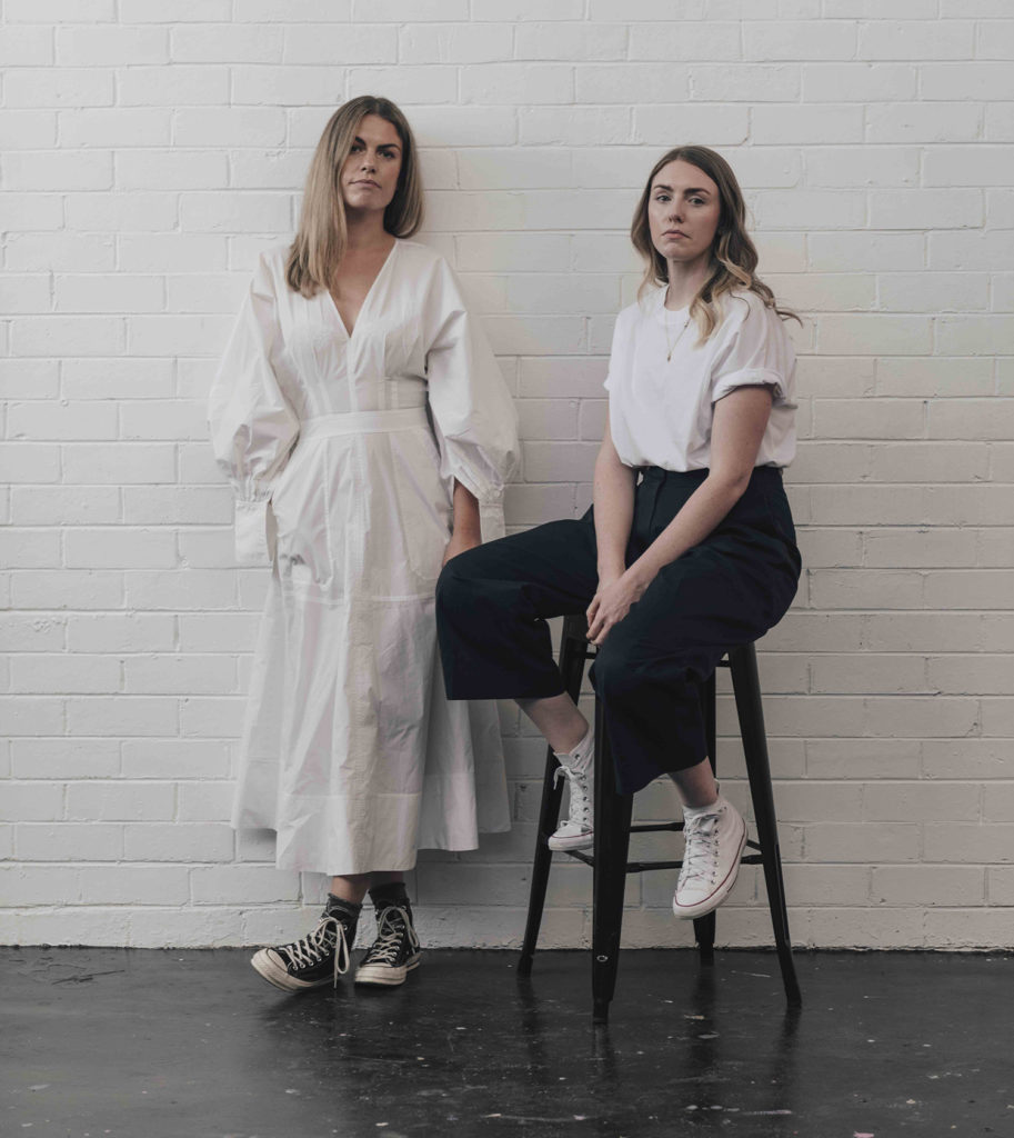 Anna fahey and Bailey Meredith, founders of Baina